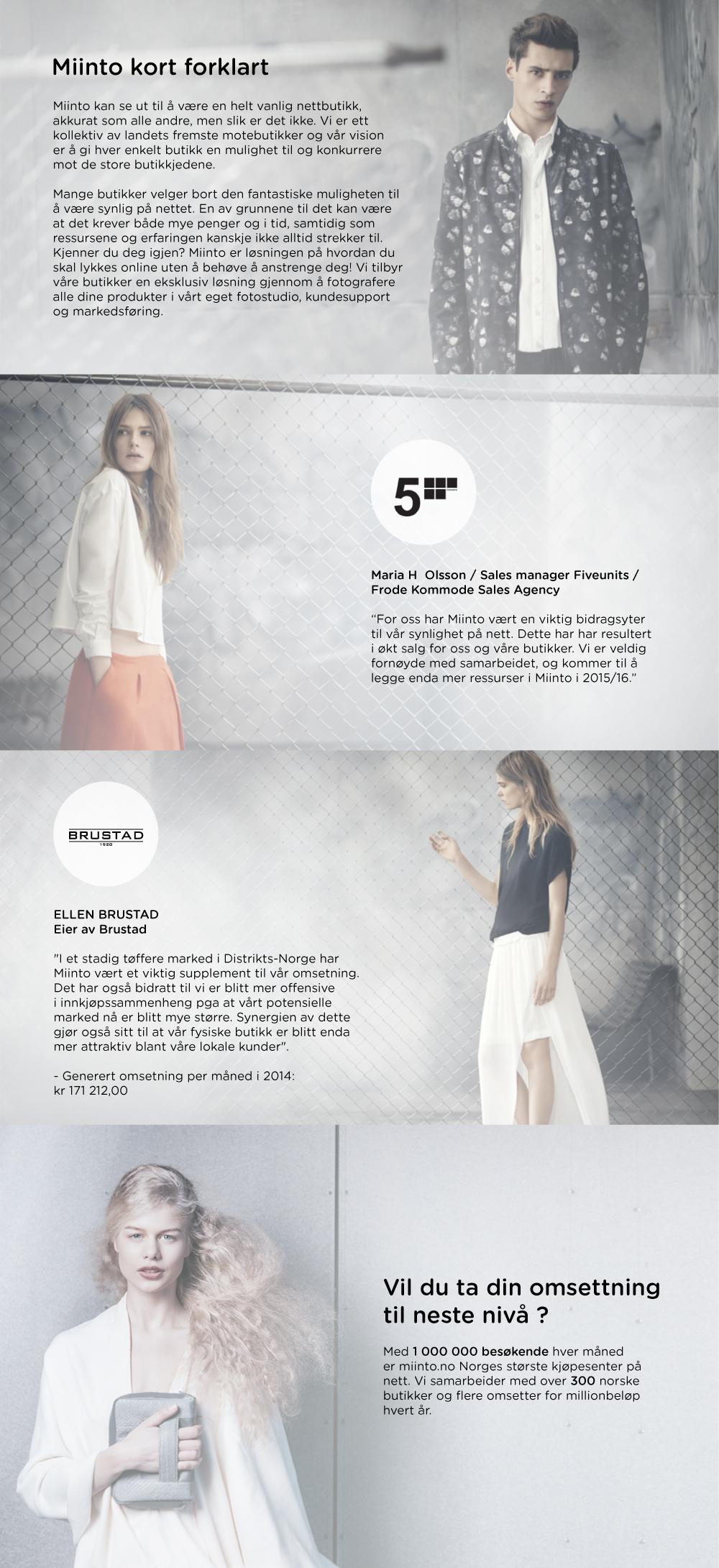 22302d08 Klær | Kjøp moteklær på nett fra Norges beste motebutikker | miinto.no